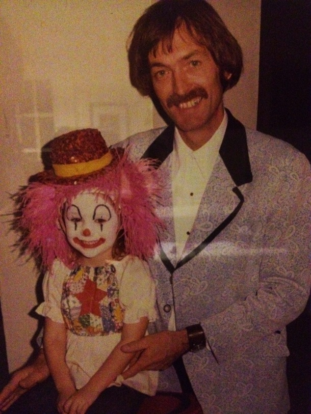 dad and me clown
