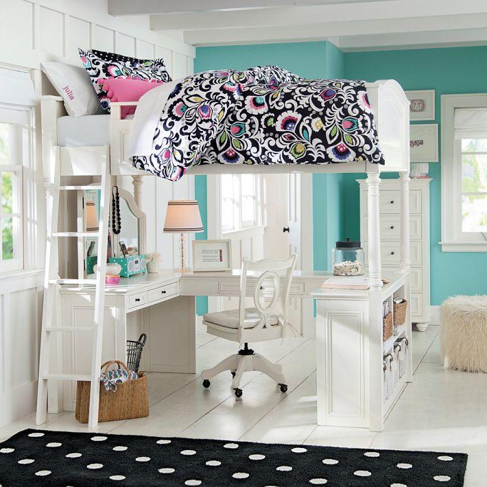 vanity loft bed plans
